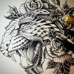 Mesmerizing Decorative Drawings Works by Ben Kwok