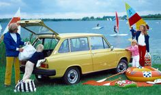 Carsthatnevermadeit - Volvo 66 GL & DL Estate, 1975. This car actually started life as a DAF 66 and was designed by Giovanni Michelotti but was rebadged after Volvo took over the Dutch car-maker. The 66′s distinctive feature was its Variomatic continuously variable transmission
