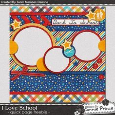 Scrapbooking TammyTags -- TT - Designer - Connie Prince, TT - Item - Quick Page, TT - Theme - School or Graduation