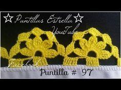 Puntilla para servilleta MRA Lizet Sanchez 5 1/2 - YouTube