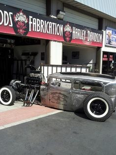 Rat rod | Want to get more such photos & truck related memes! | Just visit www.dieseltees.com #dieseltees #ratrod