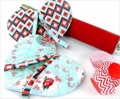 Tutorial: Heart shaped oven mitt Great Hostess Gift for Valentines' Day!!!