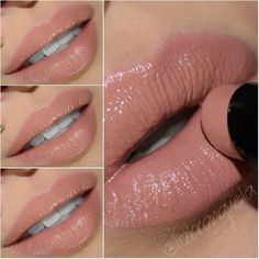 neutral lipstick It's Wet n Wild Megalast color 902C Bare It All