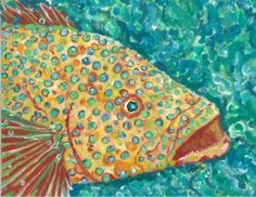 Spotted Grouper ArtworkPurchase