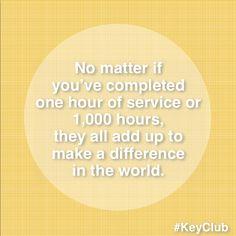 Key Club is life