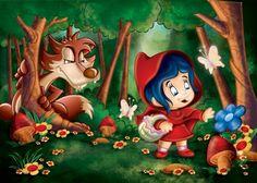 Little red riding hood Fairy Land, Fairy Tales, Charles Perrault, Adhd Kids, Princess Zelda, Disney Princess, Red Riding Hood, Elmo, Little Red