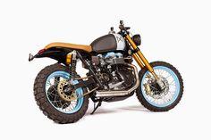 """Racing Cafè: Triumph Bonneville """"El Carmen"""" by Maria Motorcycles"""