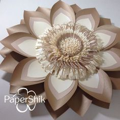 Paper flowers by PaperShik.