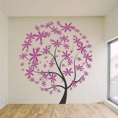 Adesivo decorativo de parede - árvore.