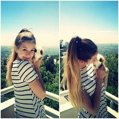 AAAWWW zoe and her definitely not fake guinea pig!!