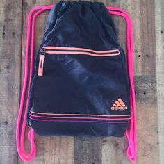 Nike Drawstring Bag Blue and Gray Niks Drawstring Bag. In ...
