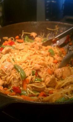 get the recipe for WW Kung Pao Chicken.. spicy ...very good! 6 points a serving