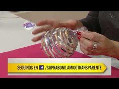 Silvina Buquete - Bienvenidas en HD - Hace una pantalla de lámpara recic...