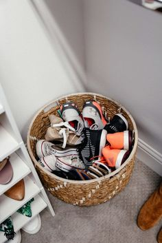 shoe organization closet organization shoe storage ideas dani austin Is It Really Kids Shoe Storage, Closet Storage, Cheap Storage, Shoe Storage Kmart, Shoe Storage In Living Room, Bedroom Storage, Shoe Storage Basket, Shoe Organizer Entryway, Shoe Storage Hacks