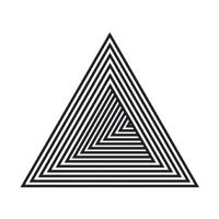 Ideas for tattoo geometric triangle drawings Triangle Drawing, Geometric Drawing, Triangle Art, Op Art, Geometric Designs, Geometric Shapes, Dreieckiges Tattoos, Geometry Art, Illusion Art