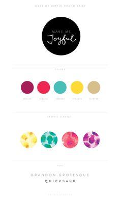 Eva Black Design | Blog: Brand + Website Launch : Make Me Joyful