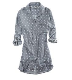 AERIE PRETTY POLKA DOT NIGHTIE
