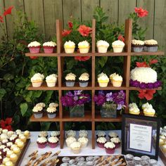 Itty Bitty Sweets Wedding Dessert Table