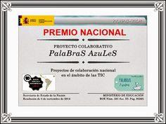 T.P.P.: EL PROYECTO @Palabrasazules_, GANADOR DEL PREMIO N...