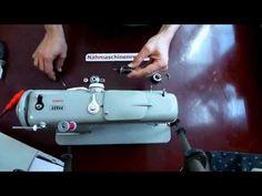 Pfaff 260-262-360-362 Oberfadenspannung/thread tension - YouTube