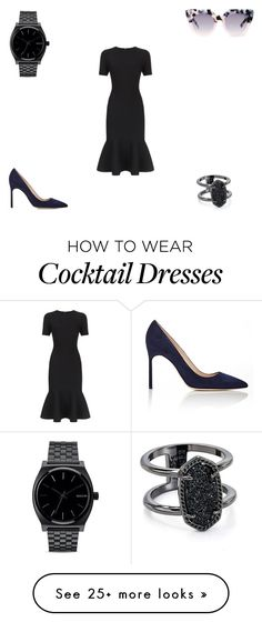 """""""Dream a little dream..."""" by lstrohm1 on Polyvore featuring Milly, Manolo Blahnik, VALLEY, Nixon and Kendra Scott"""