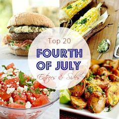 Top 20 Fourth of July Entrees and Sides