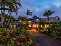 Oahu, 5 bedrooms Enjoy This Lovely Tropical Paradise - Low Introductory Rates!Vacation Rental in Pupukea from Hawaii Vacation Rentals, Dream Vacations, Ways To Travel, Tropical Paradise, Island Life, Hotels And Resorts, Swimming Pools, Beautiful Homes, Tourism