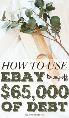 Ways To Save Money, Make Money Online, How To Make Money, Ebay Selling Tips, Selling Online, Frugal Living Tips, Frugal Tips, Making Extra Cash, Get Out Of Debt