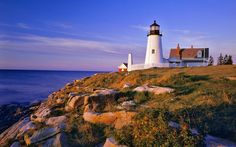 Pemaquid Lighthouse and Cliffs; Maine, USA by DIXIT LORIYA, via 500px.