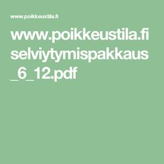 www.poikkeustila.fi selviytymispakkaus_6_12.pdf