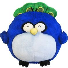 Squishable Peacock