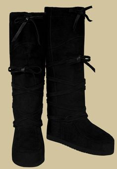 Tall Quetico Black Mukluks - $259.95  I bought the shorter version about 10 years ago and they are still going strong.  LOVE these boots.  Trying to justify another pair...:)