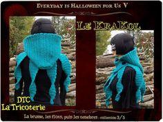 """DTC la tricoterie - Troisième collection des 11 Artistes d'Everyday is Halloween for Us, sur le thème """"la brume, les flots, puis les ténèbres..."""" Toutes les infos en cliquant sur l'image!"""