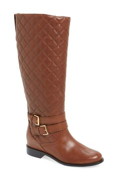 kate spade new york 'sutton' quilted knee high boot (Women)