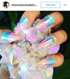 Image result for iridescent nails