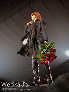 YOSHIKI (X JAPAN)の写真先出し【Girls Award 2011 A/W】 Peaceful Paradise Life