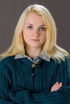 ハリーの1学年下の女子生徒。ジニーと友人のルーナ・ラブグッド♡