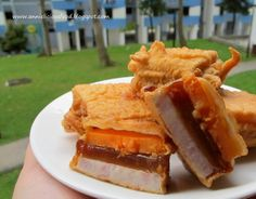 "Annielicious Food: Fried ""Nian Gao"" / Sticky Rice Cake (炸年糕)"