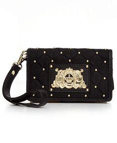 Juicy Couture Handbag, Quilted Nylon Tech Wristlet - Wallets & Wristlets - Handbags & Accessories - Macy's