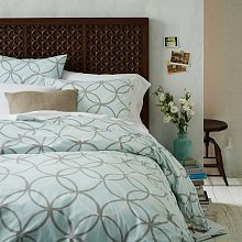 Blue Bedding, Blue Bedding Sets & Blue + Purple Bedding | West Elm