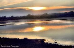 'Sunset on the River' von Dan Richards