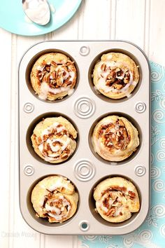 Small Batch Puff Pastry Cinnamon Rolls that can be ready in half the time