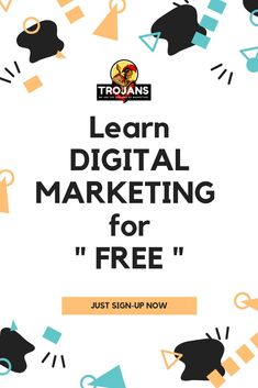 "Yes, you heard that ABSOLUTELY right ! Just SIGN-UP for our FREE DIGITAL MARKETING course and get a chance to be EARN a BADGE of "" MARKETING-TROJANS "" from us."