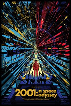 053 Vintage Movie Art Poster   2001 A Space Odyssey