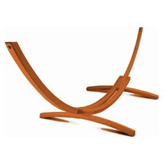 Wooden Arc Hammock Stand - Solid Wood Frame