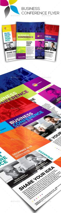 Corporate Flyer Flyers, Flyer template and Psd flyer templates - conference flyer template