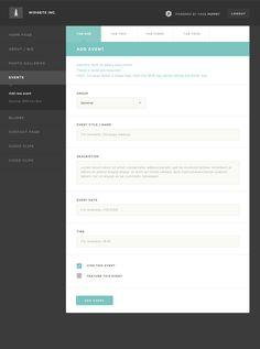 Creative Ui, Ux, Interface, Page, and Puppet image ideas & inspiration on Designspiration Form Design Web, Interaktives Design, Flat Design, Web Dashboard, Ui Web, Dashboard Design, Tabs Ui, Ui Forms, Portal Design