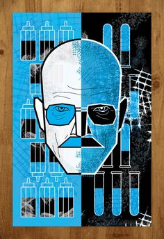 Breaking Bad: Walter White. $20.00, via Etsy. Is it bad that I'm really thinking about getting this?