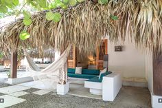 Hotel San Pedro de Majagua on the Rosario Islands one of the private suites