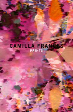 Camilla Frances, fashion patterns, london based designer.